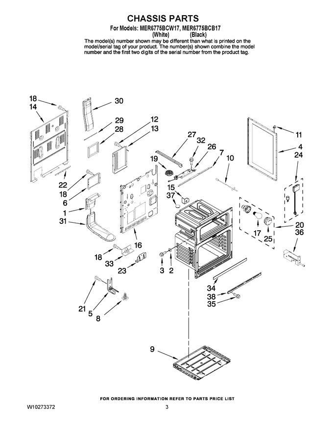 Diagram for MER6775BCB17