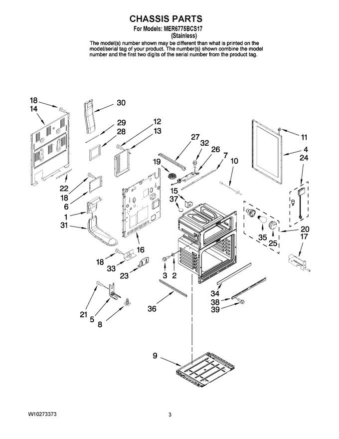 Diagram for MER6775BCS17