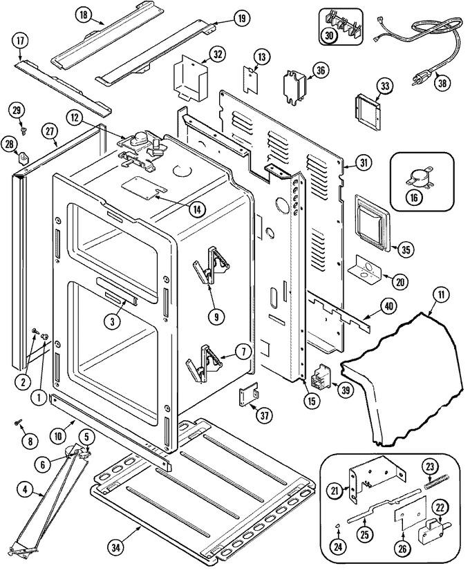 Diagram for MER6870ACW