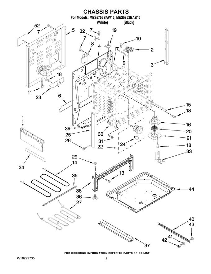 Diagram for MES5752BAW15