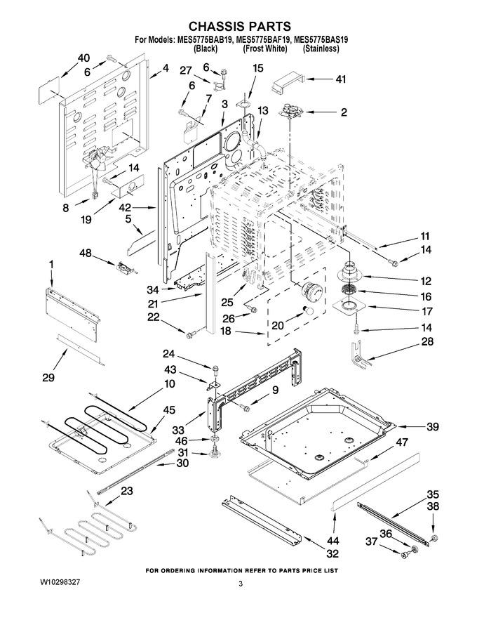 Diagram for MES5775BAF19