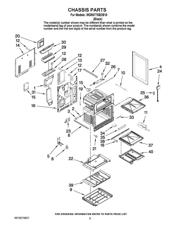 Diagram for MGR6775BDB18
