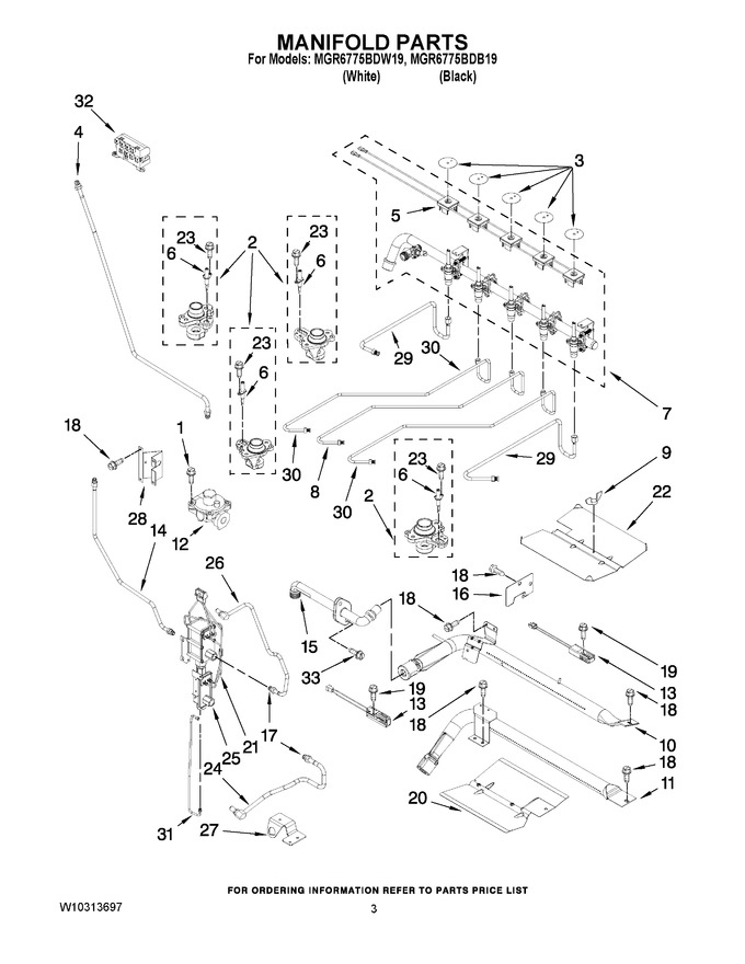 Diagram for MGR6775BDW19