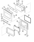 Diagram for 04 - Door (pt,pu Models)