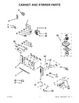 Diagram for 05 - Cabinet And Stirrer Parts