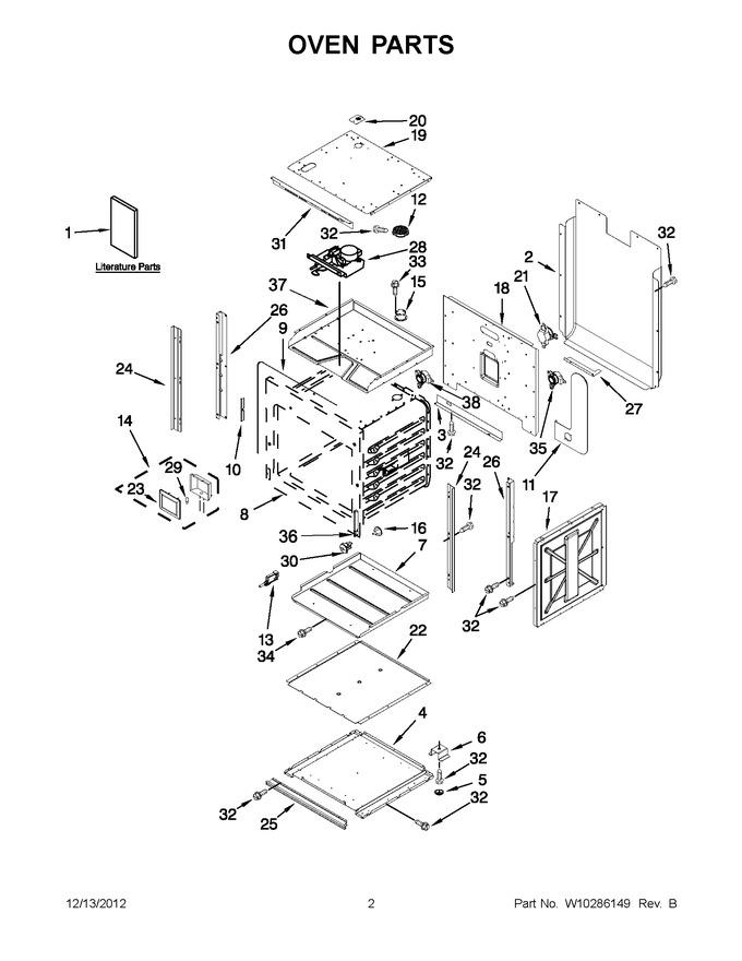 Diagram for JJW2430WP00