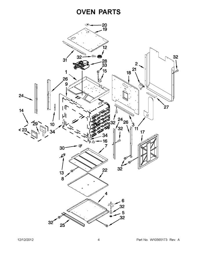 Diagram for JJW2430WW02