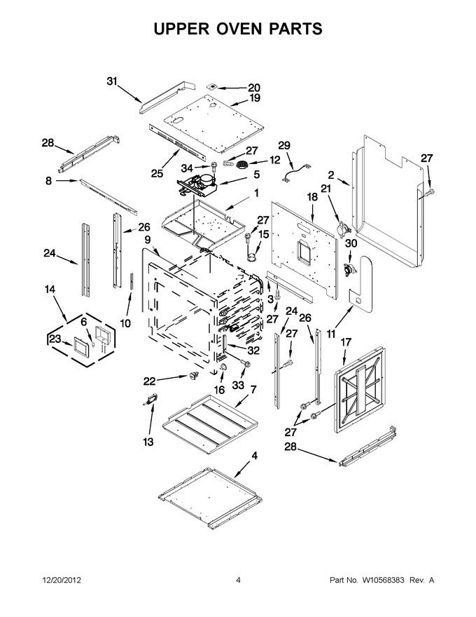 Diagram for JJW2830WR02