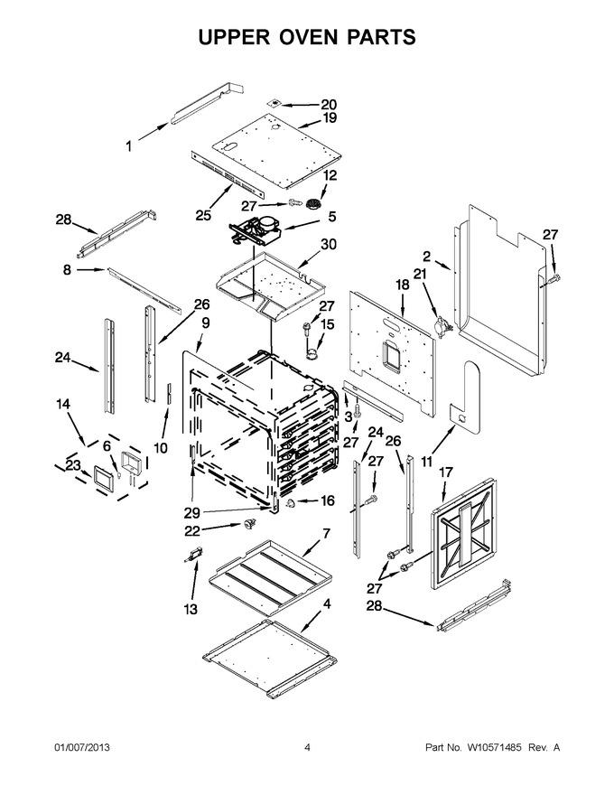 Diagram for JJW2527WS01