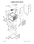 Diagram for 03 - Lower Oven Parts