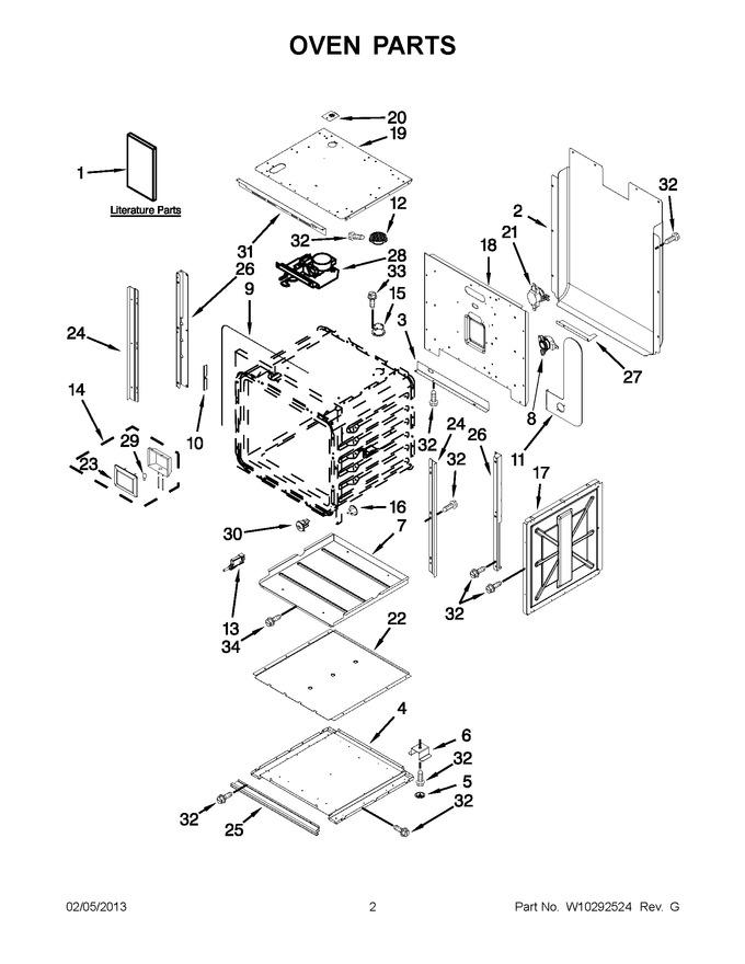 Diagram for JMW2430WW00