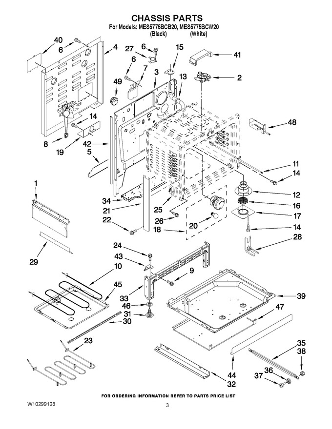 Diagram for MES5775BCW20