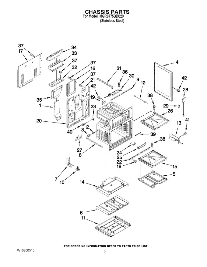 Diagram for MGR6775BDS20