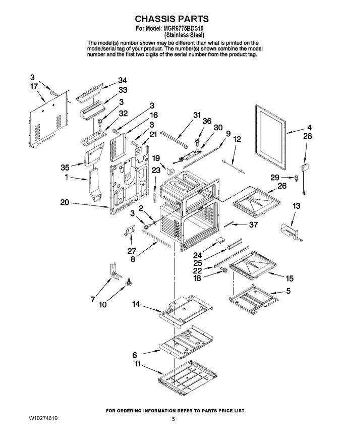 Diagram for MGR6775BDS19