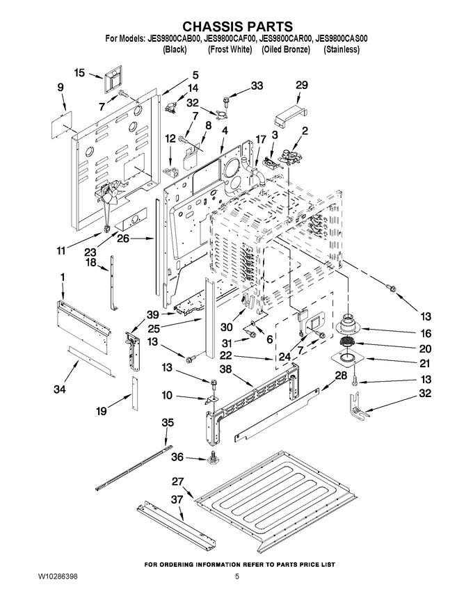 Diagram for JES9800CAB00