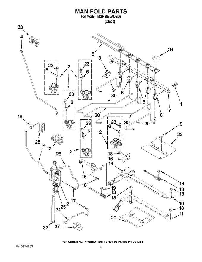 Diagram for MGR6875ADB26