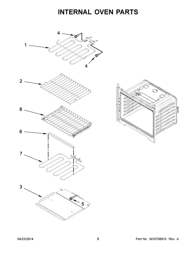 Diagram for MEW7530DE00