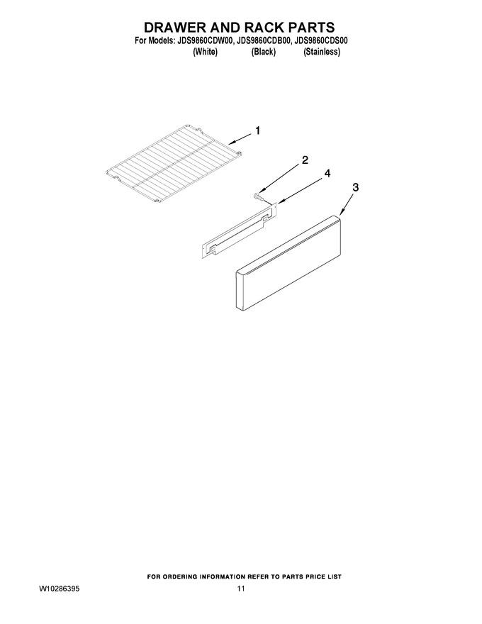 Diagram for JDS9860CDS00