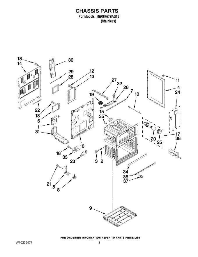 Diagram for MER6757BAS15