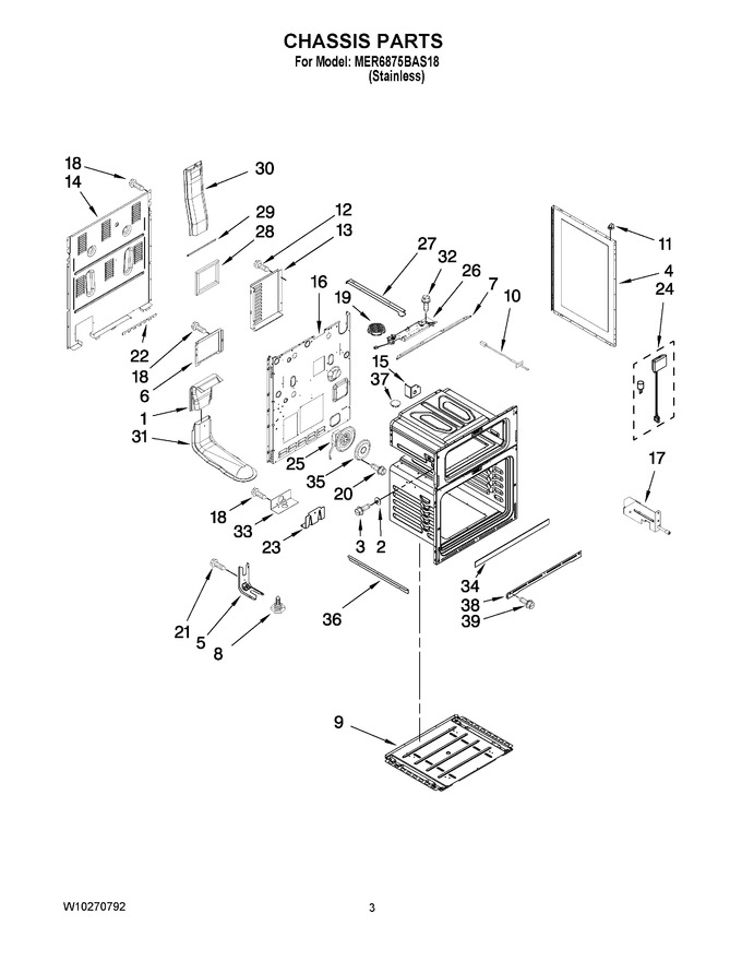 Diagram for MER6875BAS18