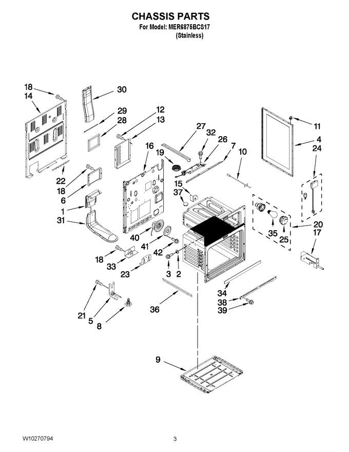 Diagram for MER6875BCS17