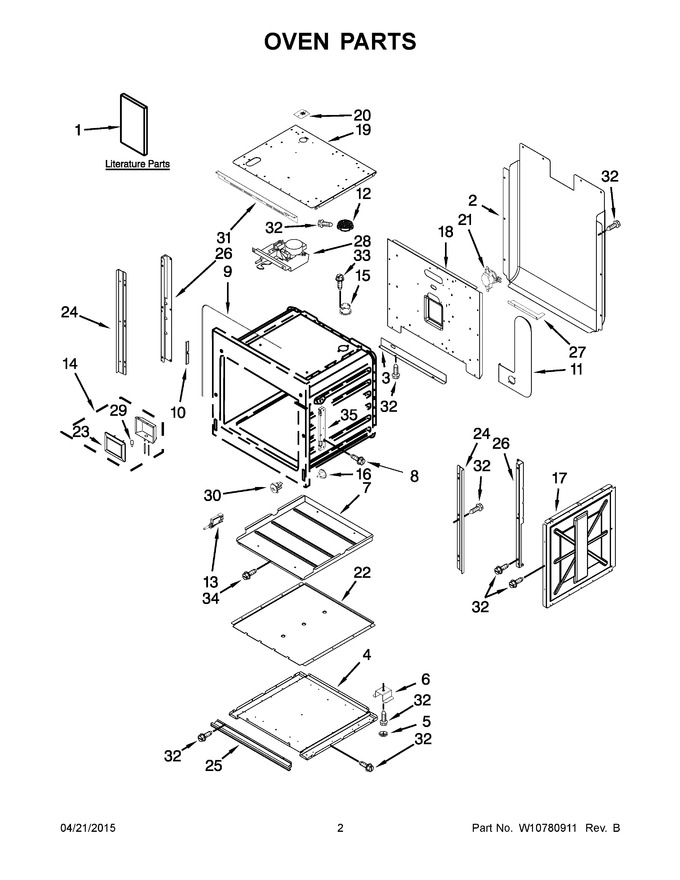 Diagram for JMW2330WS02