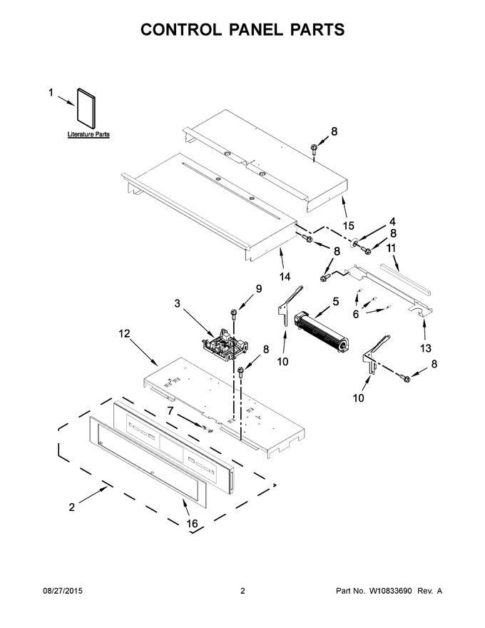 Diagram for JJW2830DP01