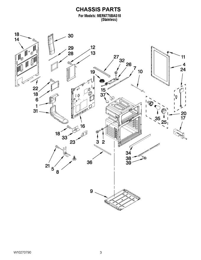 Diagram for MER6775BAS18