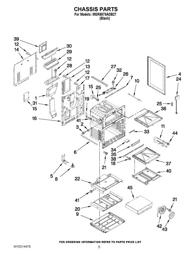 Diagram for MGR6875ADB27