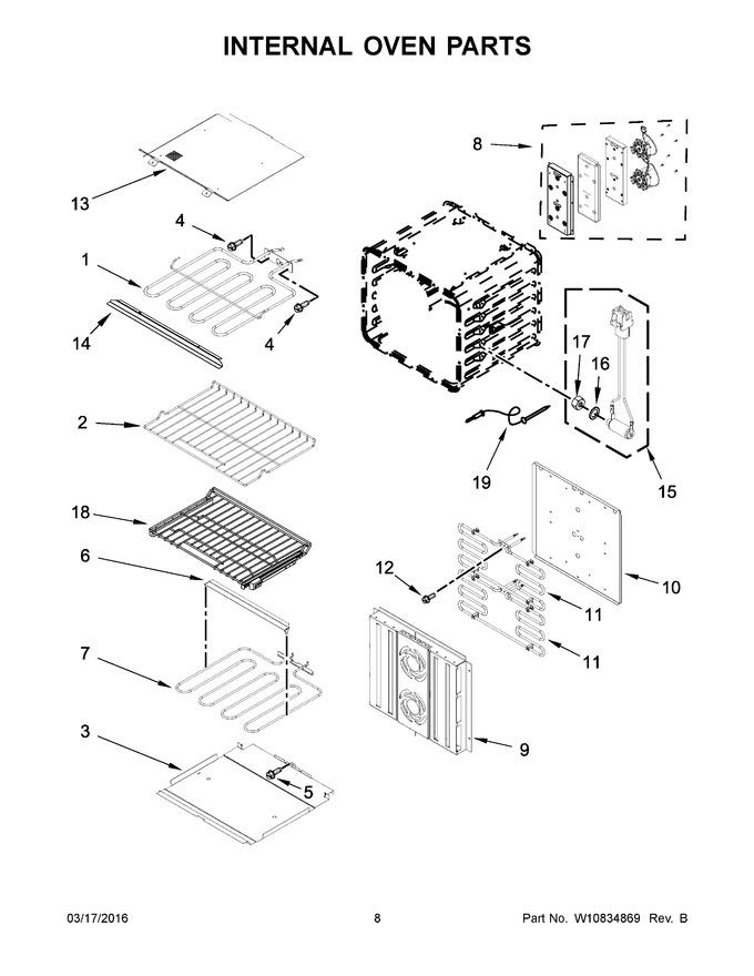 Diagram for JJW3430DB01