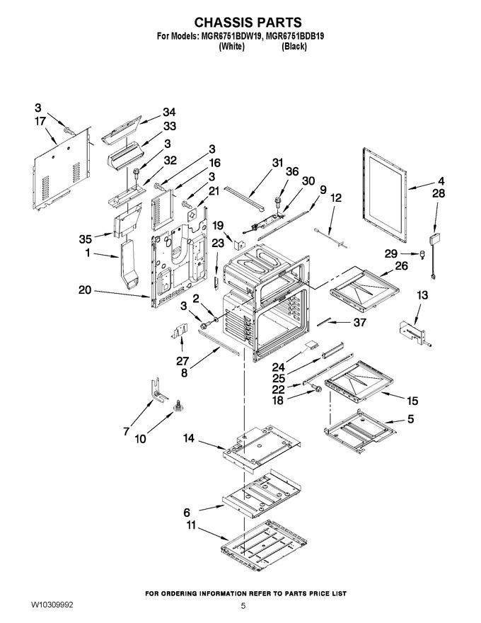 Diagram for MGR6751BDB19