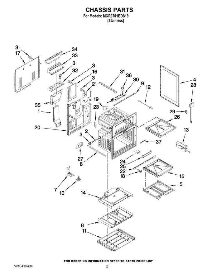 Diagram for MGR6751BDS19