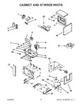 Diagram for 06 - Cabinet And Stirrer Parts