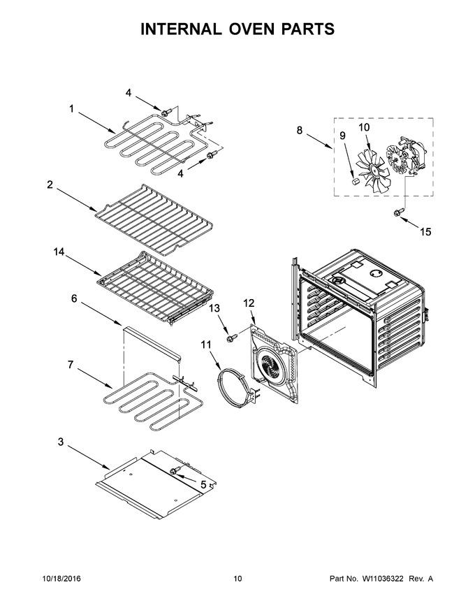 Diagram for MEW9630FW01