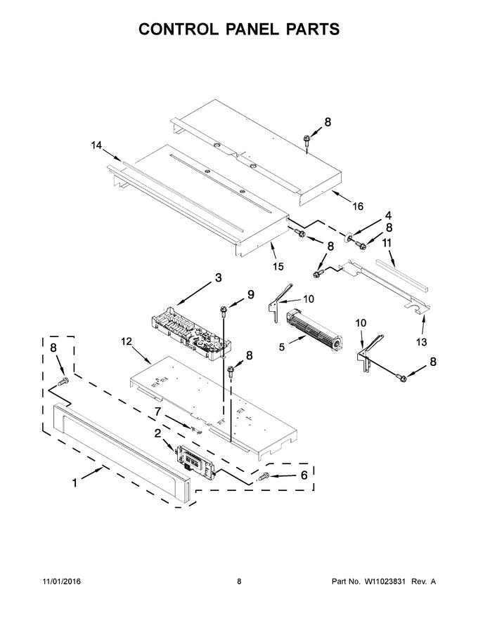 Diagram for AWO6313SFW01