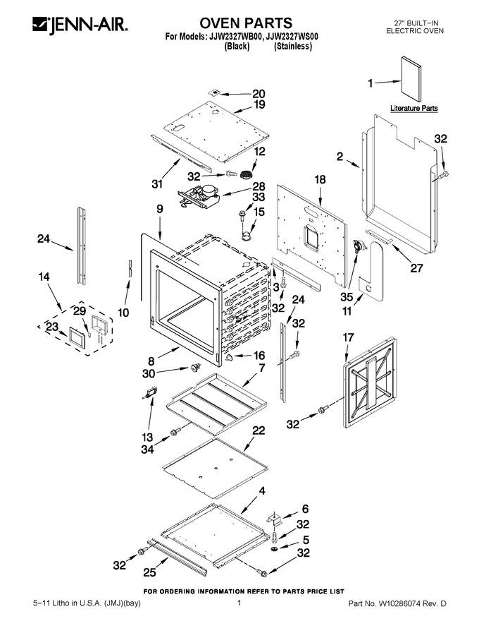 Diagram for JJW2327WS00