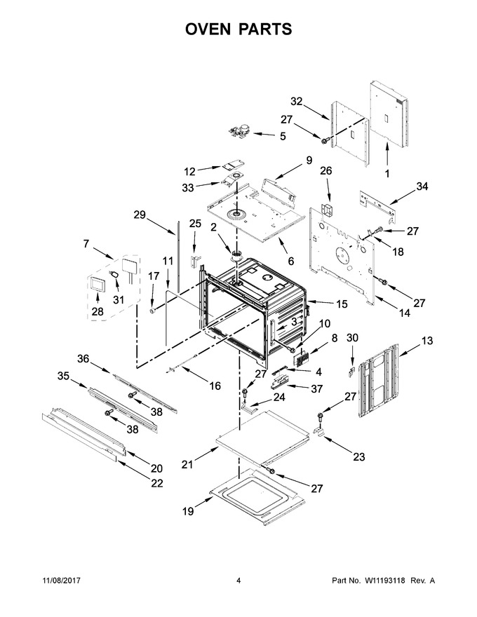 Diagram for JJW2827DS02