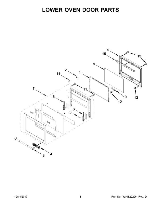 Diagram for JJW3830DP01
