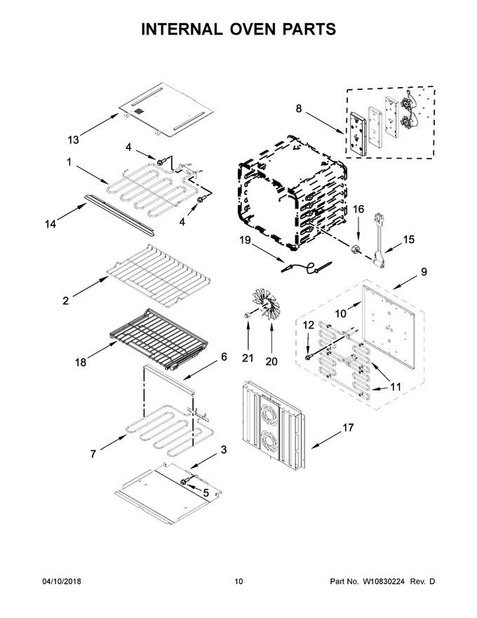 Diagram for JJW3830DB01