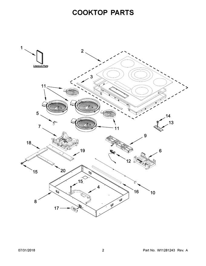 Diagram for JEC4536HS00