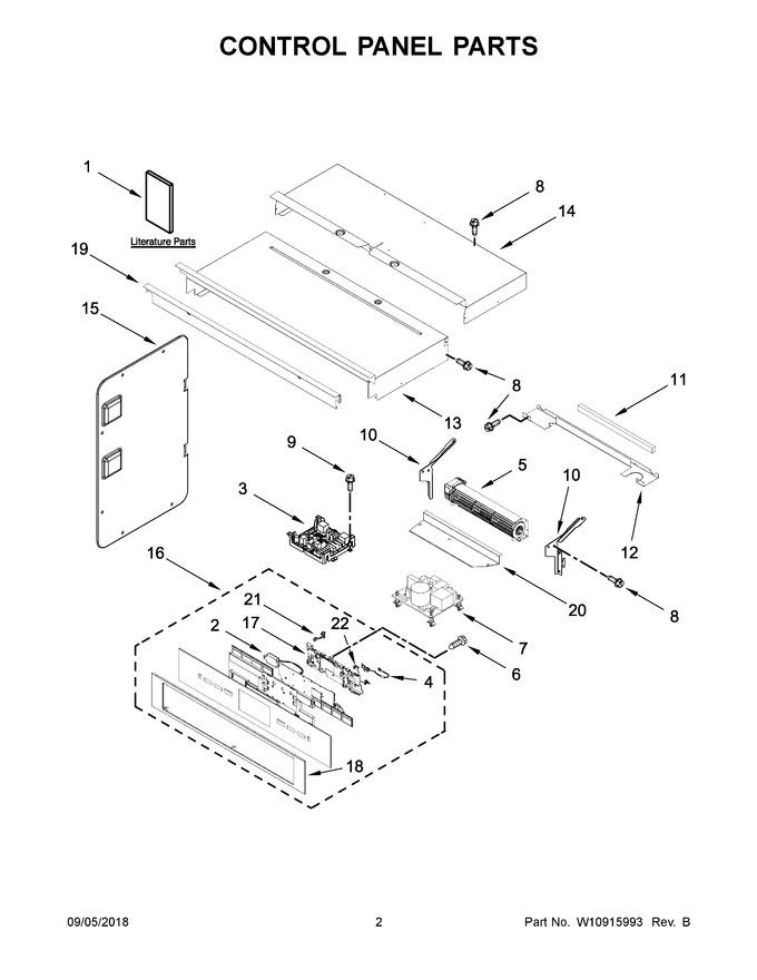 Diagram for JMW3430DB02