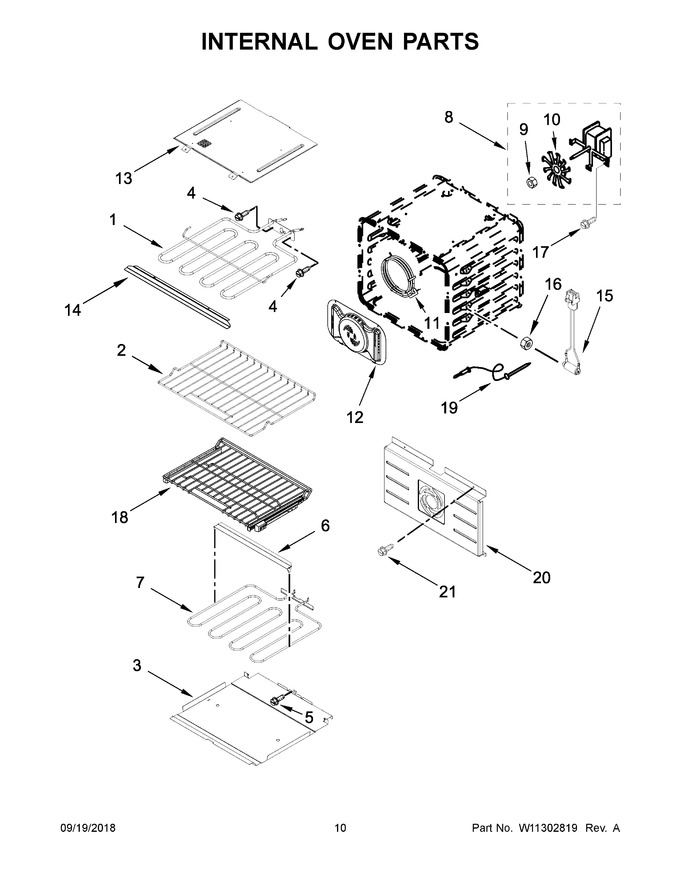 Diagram for JJW2830DS03