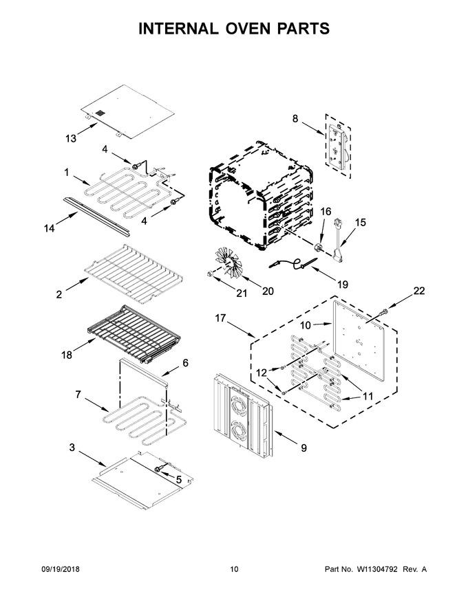 Diagram for JJW3830DP03