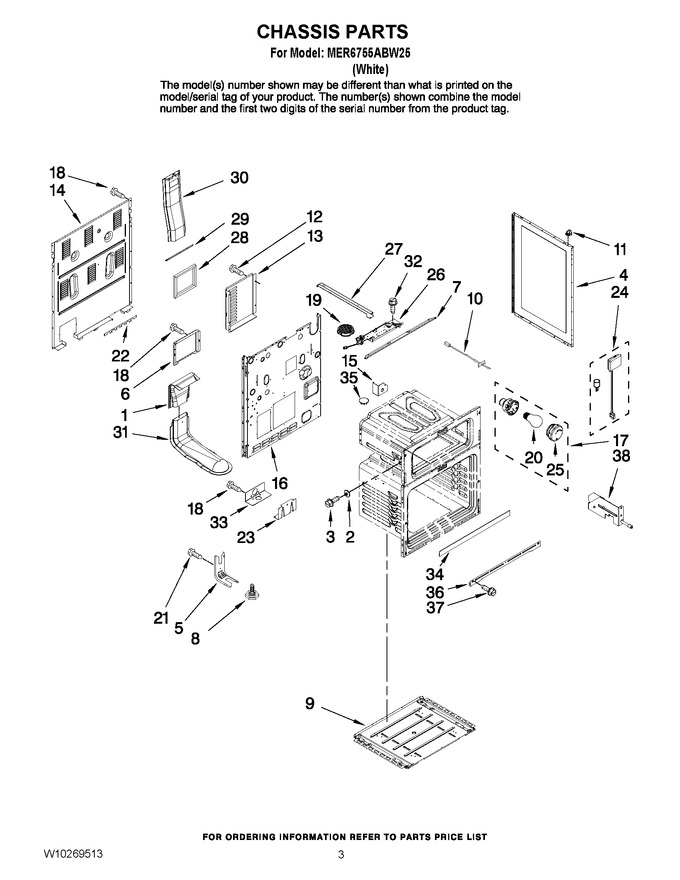 Diagram for MER6755ABW25