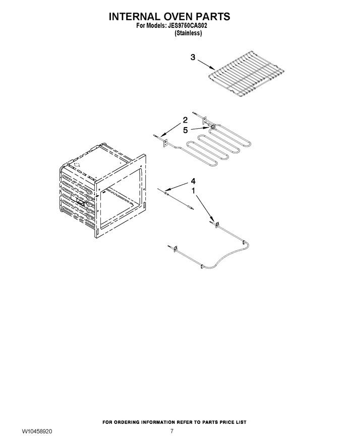 Diagram for JES9750CAS02
