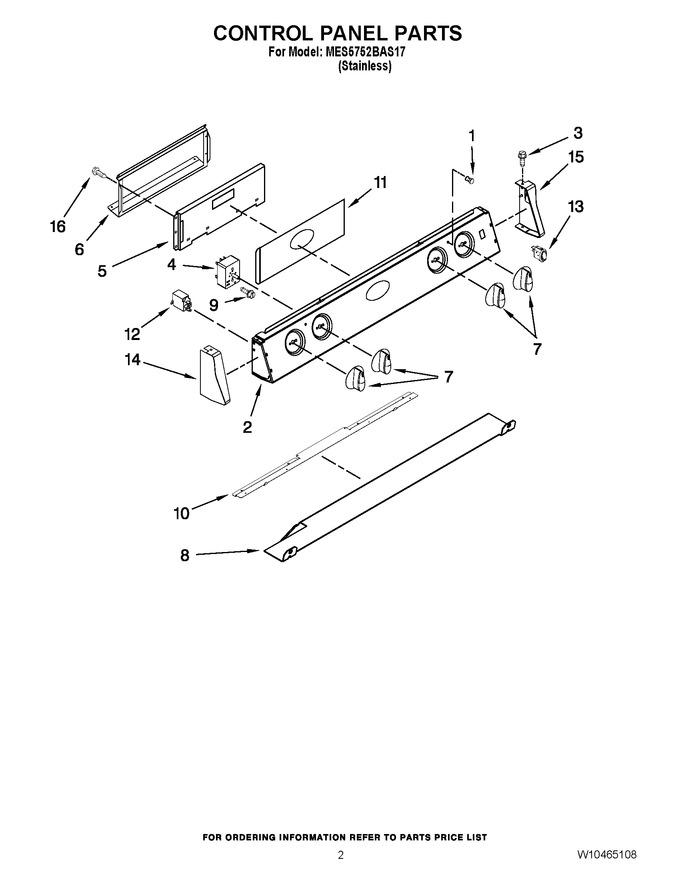 Diagram for MES5752BAS17