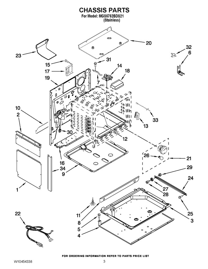 Diagram for MGS5752BDS21