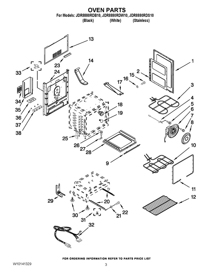Diagram for JDR8880RDS10