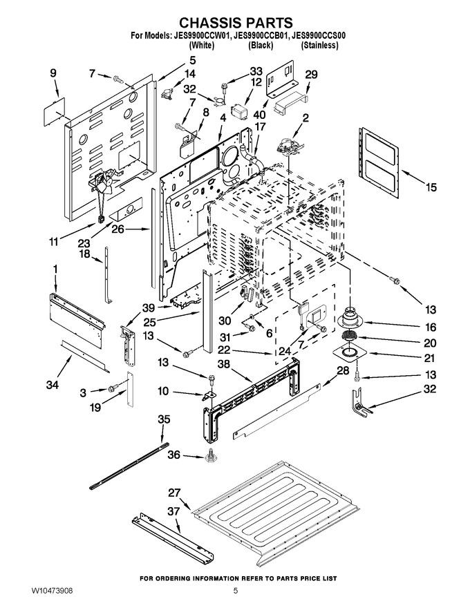 Diagram for JES9900CCS00