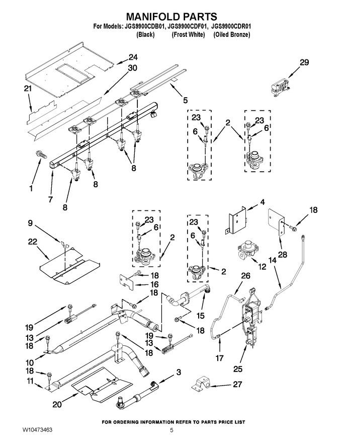 Diagram for JGS9900CDB01